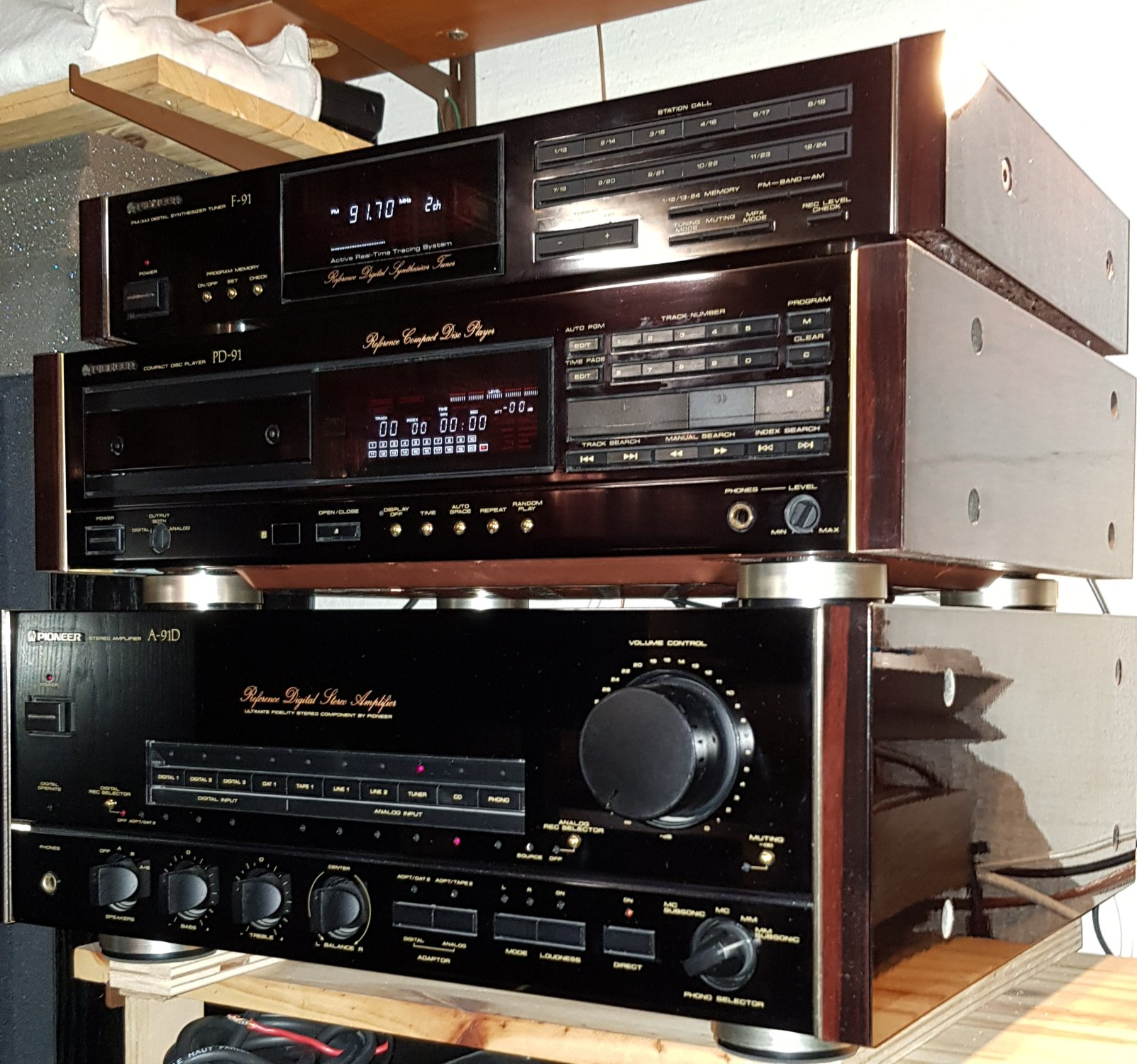 Ensemble Pioneer F-91, PD-91, A-91D